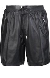 Кожаные шорты Dsquared2