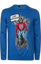 Вязаный пуловер Moschino