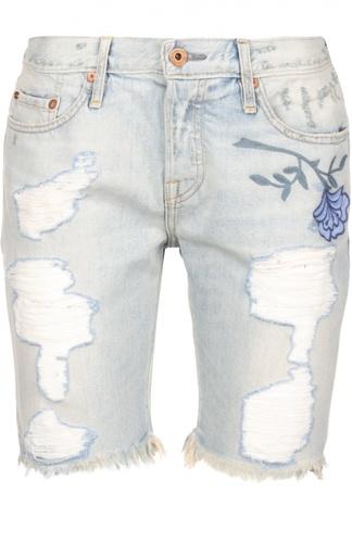 Джинсовые шорты NSF