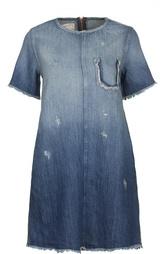 Джинсовое платье Current/Elliott