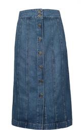 Джинсовая юбка Frame Denim