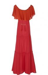 Вечернее платье с поясом Rachel Zoe