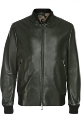 Куртка-бомбер кожаная Valentino