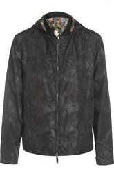 Куртка-бомбер с капюшоном Valentino