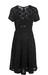 Платье с ремнем Pietro Brunelli
