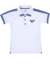 Футболка джерси с шортами Armani Junior
