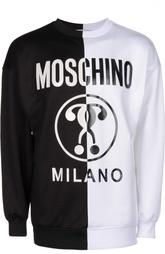 Пуловер джерси Moschino
