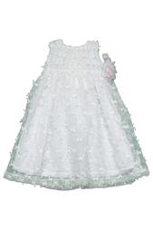 Платье с брошью Caf