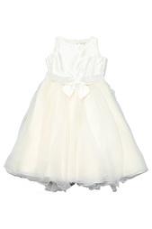 Платье с поясом Monnalisa Chic