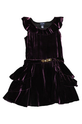 Платье с поясом Ralph Lauren