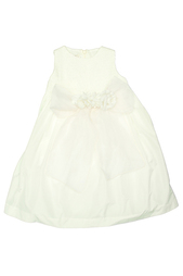 Платье с брошью и поясом Caf