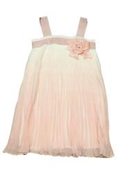 Платье, брошь Monnalisa