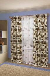 Комплект штор с тюлем Sanpa