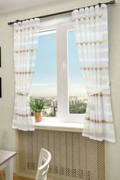 Комплект штор с подхватами Sanpa