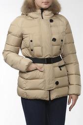 Куртка, ремень, енот Moncler