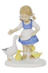 Фигурка Девочка с гусями Thuringen