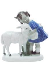 Фигурка Девочка и овечка Thuringen