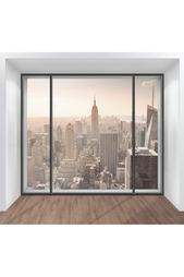 Фотообои Окно на Нью Йорк Chernilla