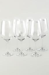 Набор бокалов для вина 6шт. Коралл