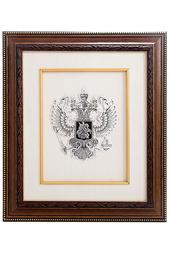 "Картина ""Герб"" Русские подарки"