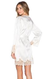 Шелковый халат новобрачной lucy - KISSKILL