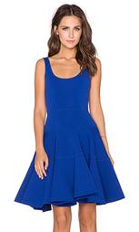 Приталенное и расклешенное платье dalhia - MILLY