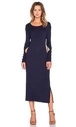 Платье с длинным рукавом fine rib - State of Being