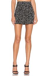 Плиссированная трапециевидная юбка - Bella Luxx