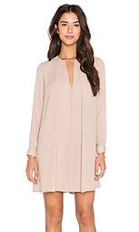 Платье с юбкой солнцеклёш длинный рукав - krisa