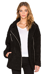 Мото куртка asymmetric zip up shearling - J.O.A.