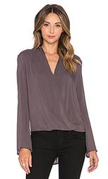 Блузка с запахом - BLAQUE LABEL