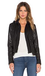 Кожаная куртка с капюшоном arlette - LaMarque