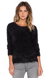 Вязаный свитер с украшением перьями carly - Generation Love