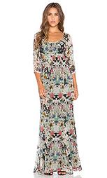 Богемное макси платье с вырезом - Twelfth Street By Cynthia Vincent