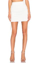 Мини-юбка с бахромой - T-Bags LosAngeles