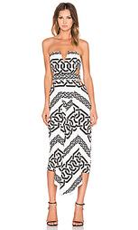 Платье с вшитым бюстгальтером и вырезом hellenic - Shona Joy