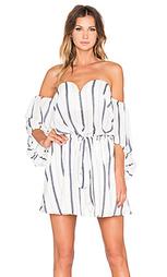 Мини-платье с открытыми плечами onassis - Shona Joy