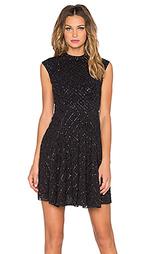 Сеточное платье в горошек - Needle & Thread