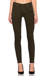 Скинни джинсы со средней посадкой - 7 For All Mankind