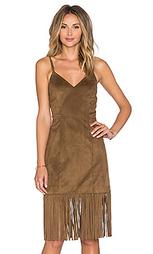 Платье с бахромой lucky - Tularosa