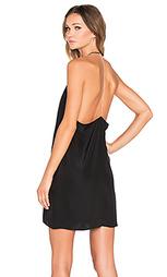 Украшенное стразами платье с угловыми шлейками сзади - Amanda Uprichard
