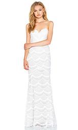 Макси платье с кружевом market - STONE_COLD_FOX