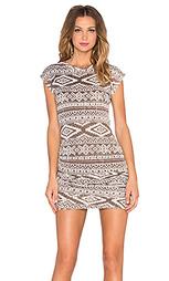 Мини платье с рюшами - T-Bags LosAngeles