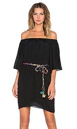 Платье со спущенными плечами 3/4 sleeve - T-Bags LosAngeles