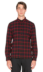 Из фланели cross-dyed tartan shirt - The Kooples
