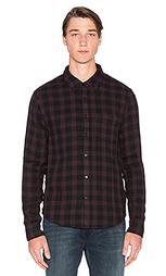 Фланелевая рубашка slim fit shirt double woven plaid - Joe's Jeans