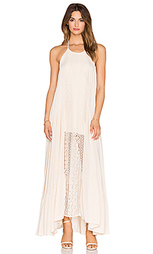 Платье bronte lace detail maxi - Le Salty Label