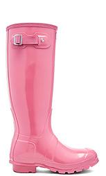 Резиновые сапоги original tall gloss - Hunter