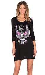 Платье fiona yin yang eagle - Lauren Moshi
