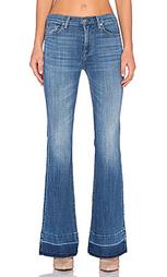 Расклешенные джинсы ginger released hem - 7 For All Mankind